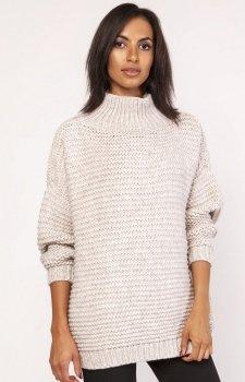 Lanti SWE116 sweter beżowy