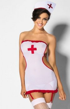 Persea erotyczny kostium pielęgniarki