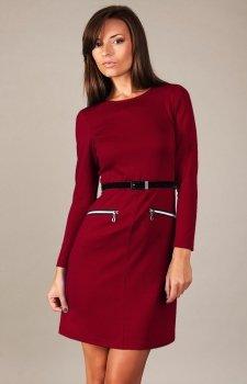 Vera Fashion Angela sukienka bordowa
