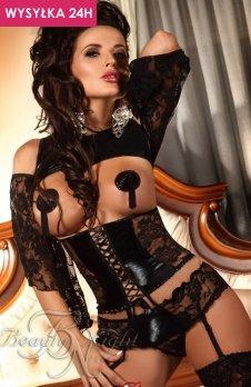 *Beauty Night Priscilla komplet czarny
