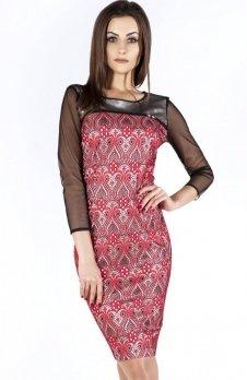 Bicot 2700-02 sukienka czerwona