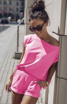 Komplet dresowy Comfort różowy