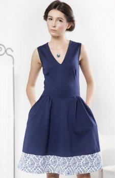 Kasia Miciak design bez rękawów sukienka