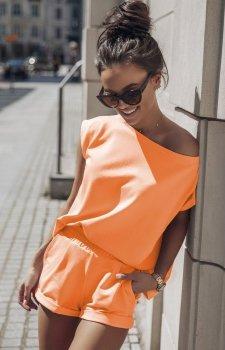 Komplet dresowy Comfort pomarańczowy
