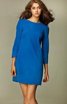 Nife S28 sukienka niebieska