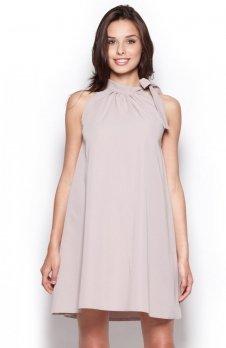Figl M277 sukienka szara