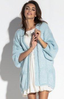 Fobya F569 sweter błękitny
