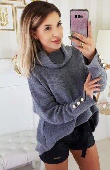 Carmel Zafira sweter szary