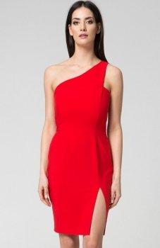 Mosali M035 sukienka czerwona