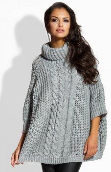*Lemoniade LS193 sweter szary