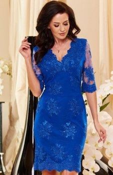 *Roco 0153 sukienka chabrowa