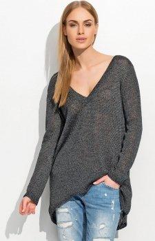Makadamia S38 sweter czarny