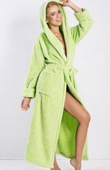 Dkaren Diana szlafrok długi zielony