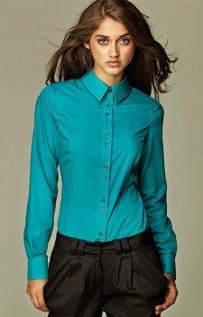 *Nife k38 koszula lazurowy