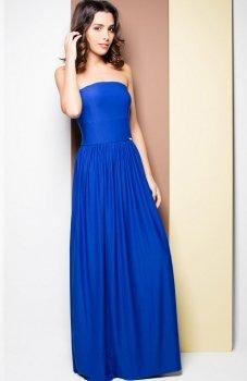 Katrus K252 sukienka niebieska