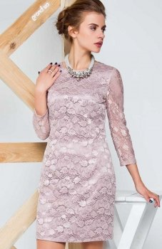 Cover GR1310 sukienka beżowa