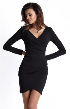 Ivon Marika sukienka czarna