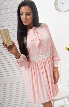 Lola Lena sukienka pudrowy róż