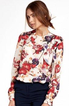Nife B93KW bluzka w kwiaty