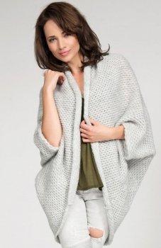 *Numinou S02 sweter jasny szary