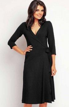 Awama A147 sukienka czarna
