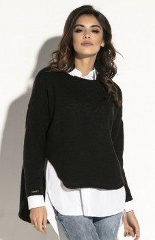 Fobya F585 sweter czarny