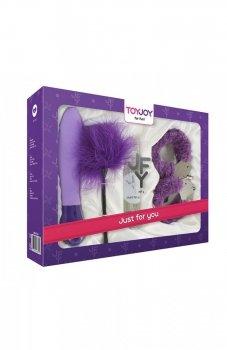 Toy Joy fioletowy zestaw erotyczny