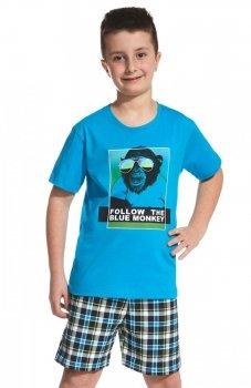 Cornette Young 790/55 Blue Monkey Young piżama