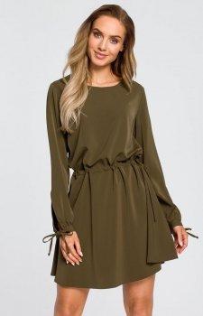 Moe M426 sukienka zielona