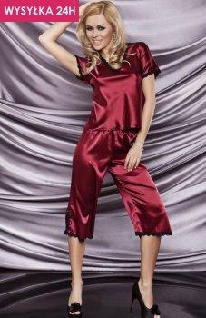 *Dkaren Irina piżama bordowa