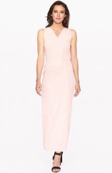 Lapasi L015 sukienka pudrowy róż