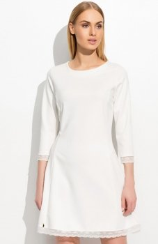 Makadamia M303 sukienka ecru
