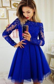 Bicotone 2137-05 sukienka chabrowa