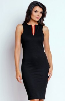 Nommo NA159 sukienka czarna