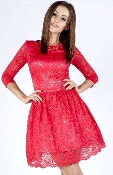 Bicot 2102-05 sukienka fuksja