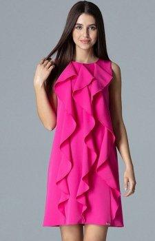 Figl M622 sukienka fuksja