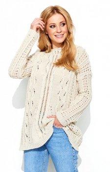 Makadamia S60 sweter beżowy