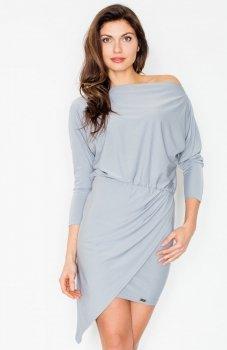 Figl M475 sukienka szara