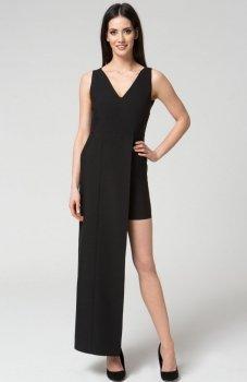 Mosali M040 sukienka czarna