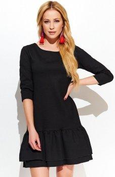 Makadamia M427 sukienka czarna