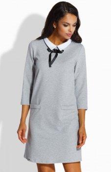 Lemoniade L222 sukienka szara
