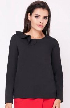 Nommo NA221 bluzka czarna