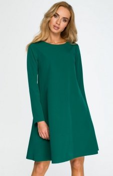 Style S137 sukienka zielona