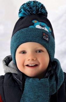 AJS 36-342 czapka i szalik