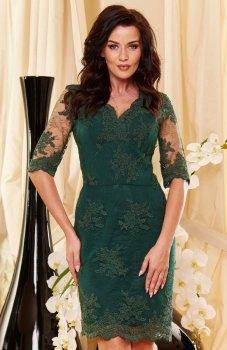 Roco 0153 sukienka zielona