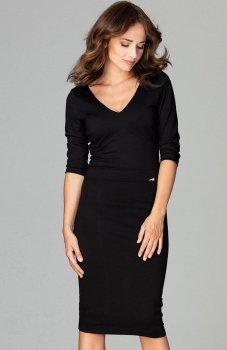 Lenitif K476 sukienka czarna
