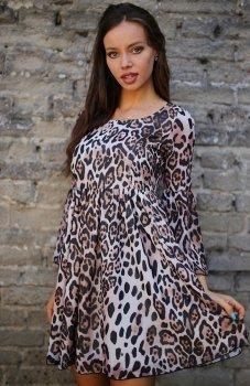 Roco 0216 sukienka panterka