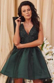 *Roco 0150 sukienka zielona