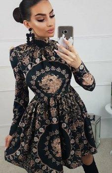 Lola Cloe sukienka wzorzysta