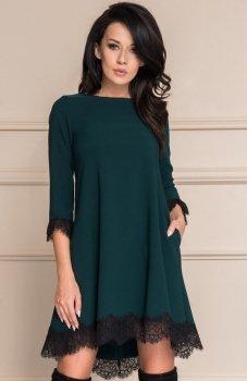 *Roco 0117 sukienka zielona